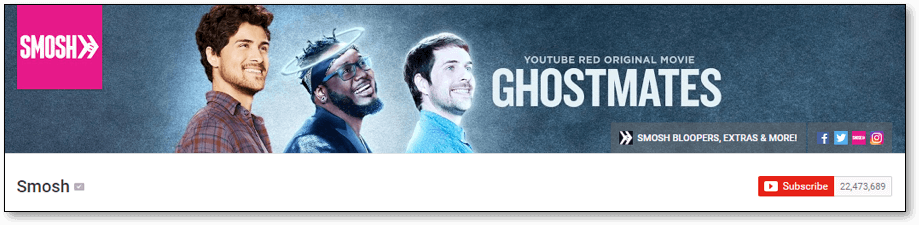 Create youtube channel art example 3