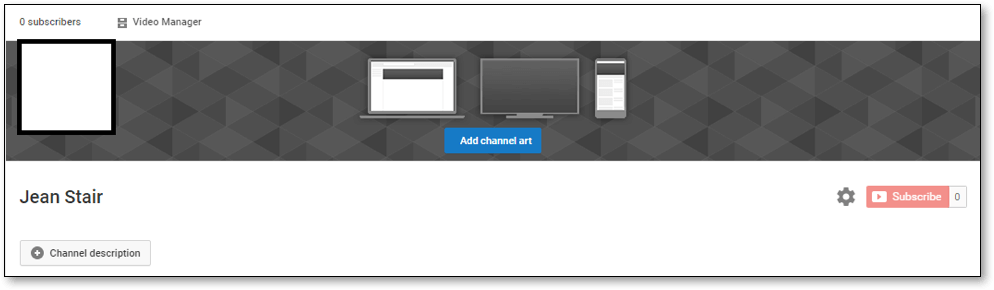 Create Youtube channel step 6
