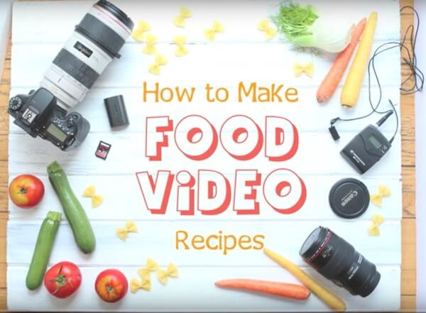 create a cooking vlog