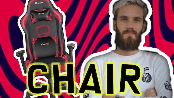 Fantastic Pewdiepie Gaming Chair Review Vlogging Hero Pdpeps Interior Chair Design Pdpepsorg