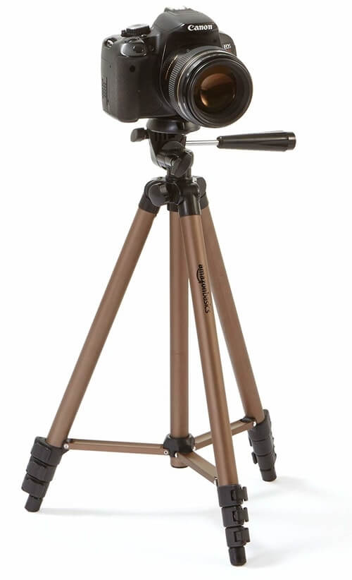 Cheap-Tripods-For-Video-AmazonBasics-Tripod