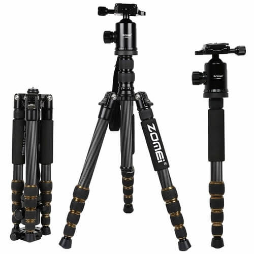 Cheap-Tripods-For-Video-Zomei-Z669C