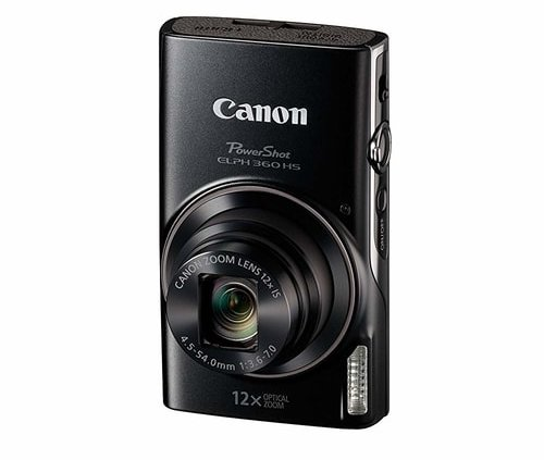 Best-Vlogging-Cameras- Under-300-Canon-PowerShot-ELPH360