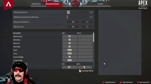 Dr-DisRespect-Setup-Apex-Legends-Settings