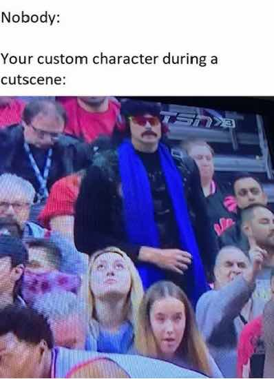 Doc in the crowd